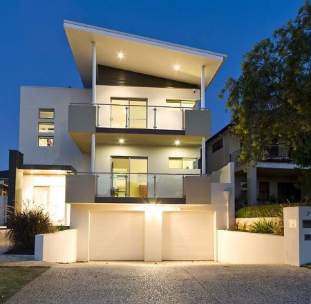 Sloping block home designs perth home design for Home designs for sloping blocks